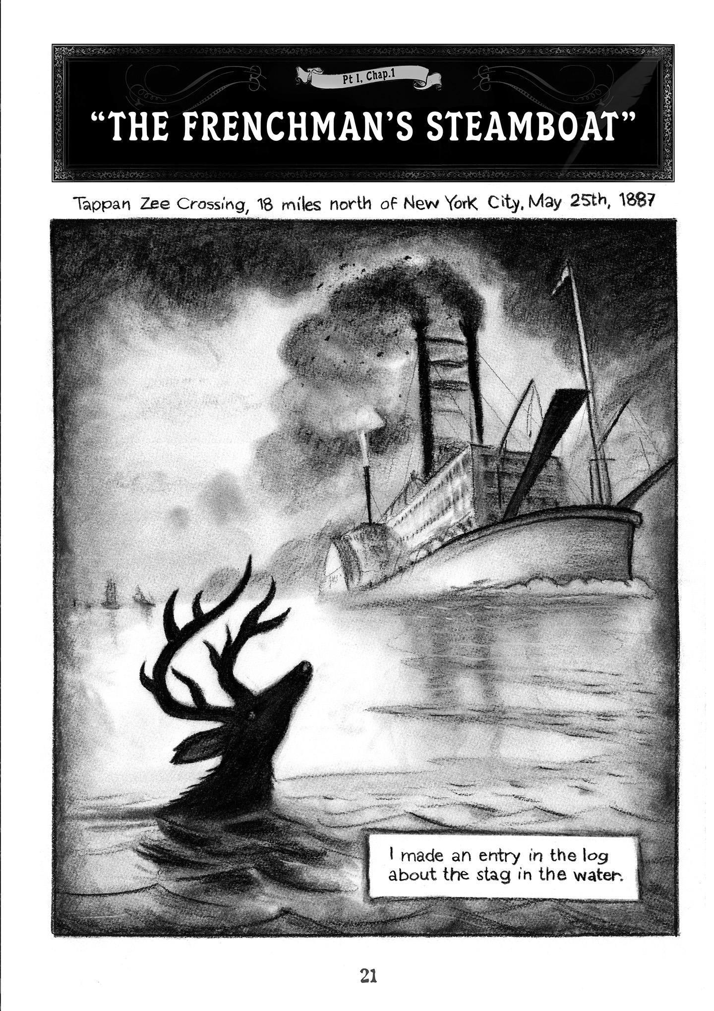 SAILOR TWAIN, or the Mermaid in the Hudson - Mark Siegel